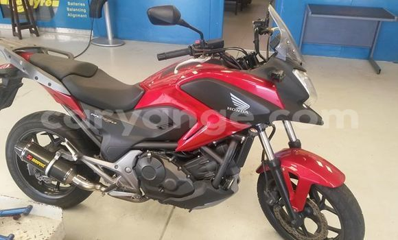 Buy Used Honda NC750 Red Bike in Walvis Bay in Namibia