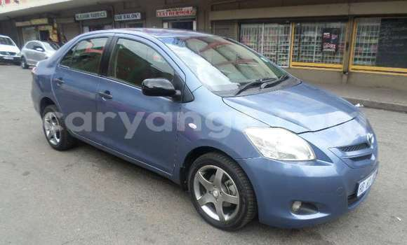 Buy Used Toyota Yaris Blue Car in Windhoek in Namibia