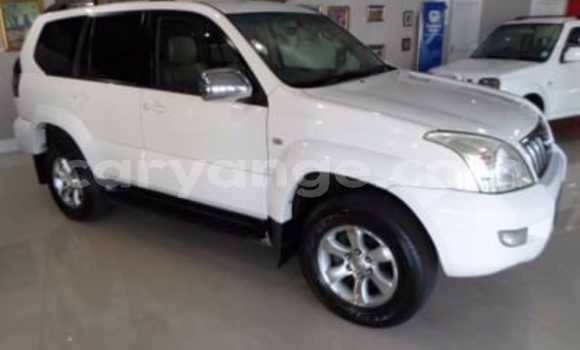 Buy Used Toyota Land Cruiser Prado White Car in Walvis Bay in Namibia
