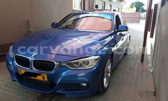 Buy Used BMW 3-Series Blue Car in Windhoek in Namibia
