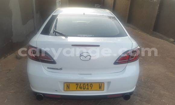 Buy Used Mazda 6 White Car in Windhoek in Namibia