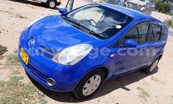 Buy Used Nissan Note Blue Car in Windhoek in Namibia