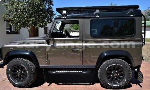 Buy Used Land Rover Defender Silver Car in Windhoek in Namibia