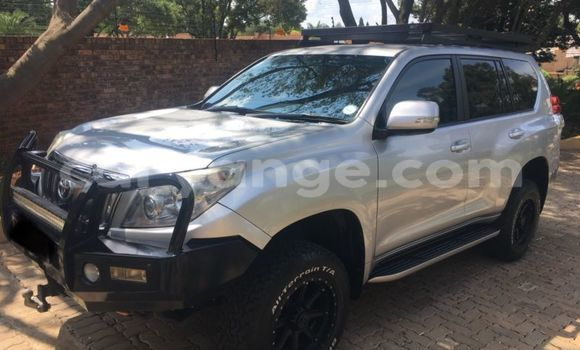 Buy Used Toyota Prado Silver Car in Windhoek in Namibia