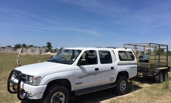 Buy Used Toyota 4Runner White Car in Otjiwarongo in Namibia