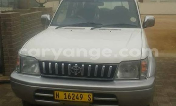 Buy Used Toyota Land Cruiser Prado White Car in Swakopmund in Namibia