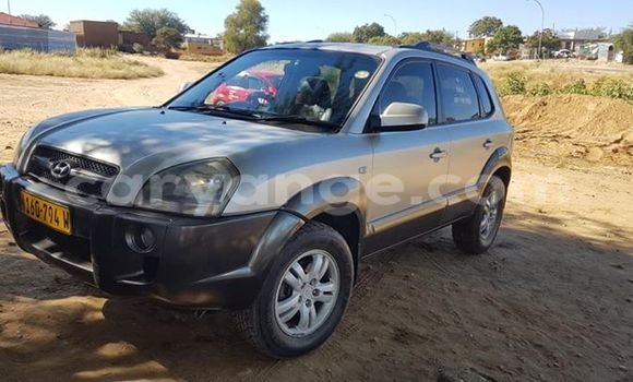Buy Used Hyundai Tucson Silver Car in Windhoek in Namibia