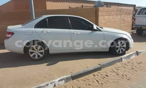 Buy Used Mercedes‒Benz C-Class White Car in Swakopmund in Namibia
