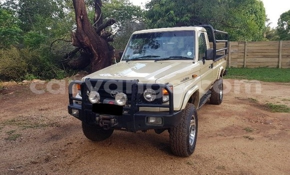Buy Used Toyota Land Cruiser Beige Car in Windhoek in Namibia