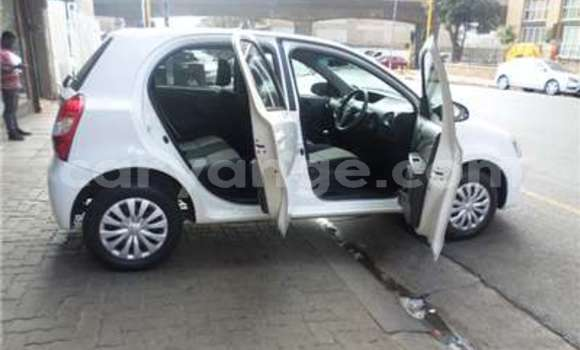 Buy Used Toyota Echo White Car in Windhoek in Namibia