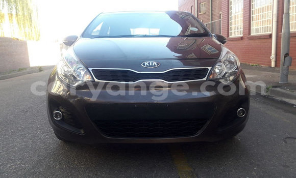 Buy Used Kia Rio Black Car in Leonardville in Omaheke