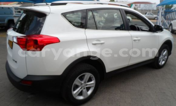 Buy Used Toyota RAV4 White Car in Grootfontein in Namibia