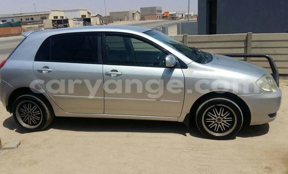 Buy Used Toyota Runx Silver Car in Swakopmund in Namibia
