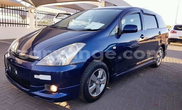 Buy Used Toyota Wish Blue Car in Windhoek in Namibia