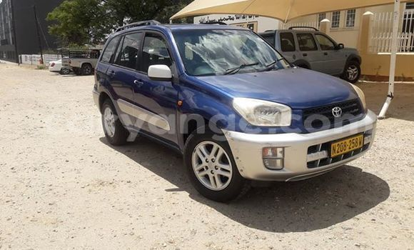 Buy Used Toyota RAV4 Blue Car in Windhoek in Namibia