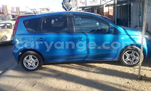 Buy Used Nissan Note Blue Car in Windhoek in Namibia