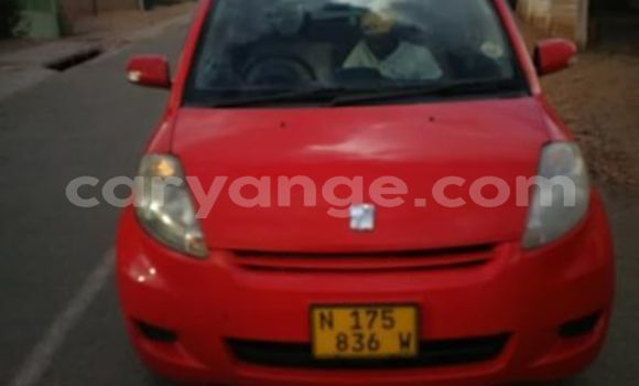 Buy Used Toyota Passo Red Car in Windhoek in Namibia