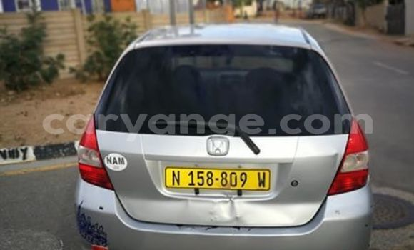 Buy Used Honda Fit Silver Car in Windhoek in Namibia
