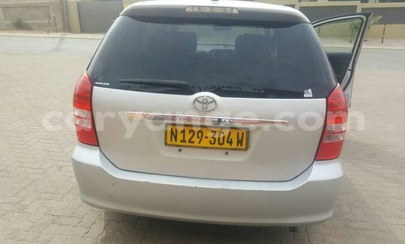 Buy Used Toyota Wish Silver Car in Windhoek in Namibia