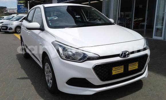 Buy Used Hyundai I20 White Car in Oshikango in Ohangwena