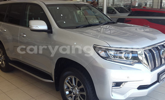 Buy Used Toyota Land Cruiser Prado Silver Car in Walvis Bay in Namibia