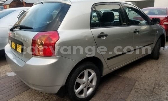 Buy Used Toyota Runx Silver Car in Walvis Bay in Namibia