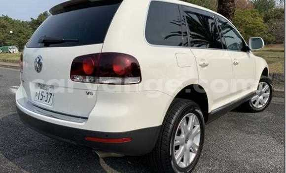 Buy Used Volkswagen Touareg White Car in Swakopmund in Namibia