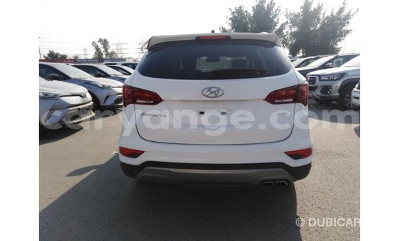 Buy Import Hyundai Santa Fe White Car in Import - Dubai in Namibia