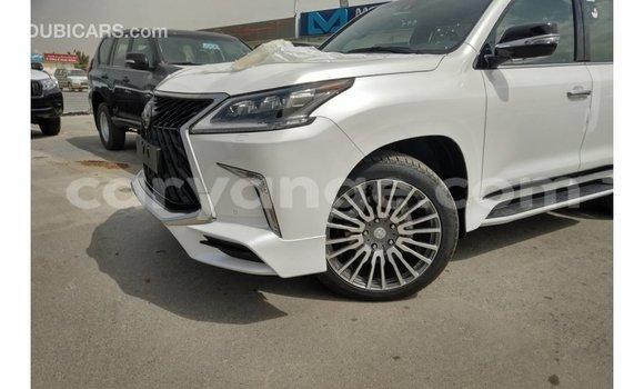 Buy Import Lexus LX White Car in Import - Dubai in Namibia