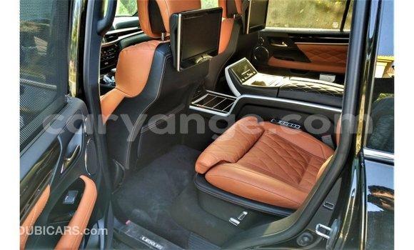 Buy Import Lexus LX Black Car in Import - Dubai in Namibia