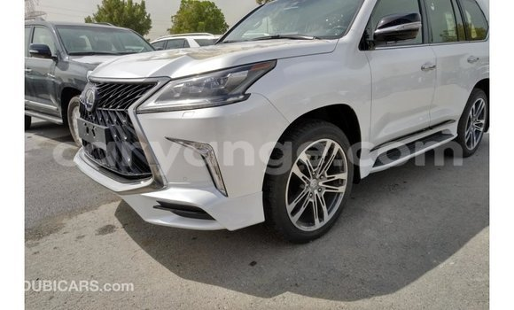 Buy Import Lexus LX White Car in Import - Dubai in Namibia