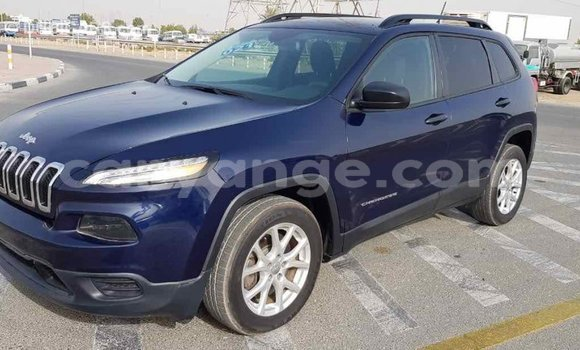 Buy Import Jeep Cherokee Blue Car in Import - Dubai in Namibia