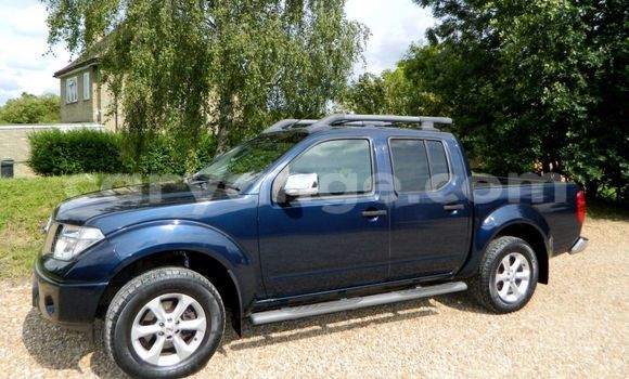 Buy Used Nissan Navara Blue Truck in Windhoek in Namibia