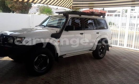 Buy Used Nissan Patrol White Car in Windhoek in Namibia