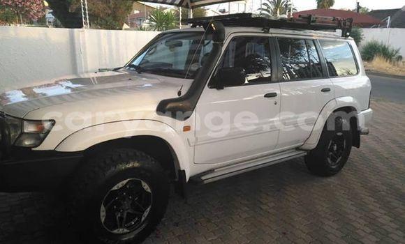 Buy Used Nissan Patrol White Car in Windhoek in Namibia