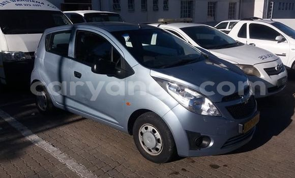 Buy Used Chevrolet Spark Blue Car in Windhoek in Namibia