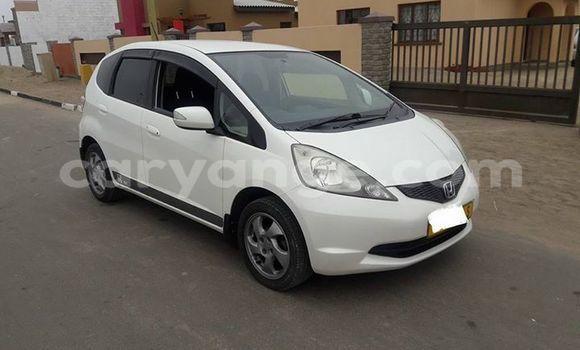Buy Used Honda FIT White Car in Swakopmund in Namibia