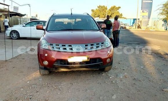 Buy Used Nissan Murano Red Car in Windhoek in Namibia