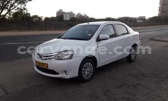 Buy Used Toyota Etios White Car in Windhoek in Namibia