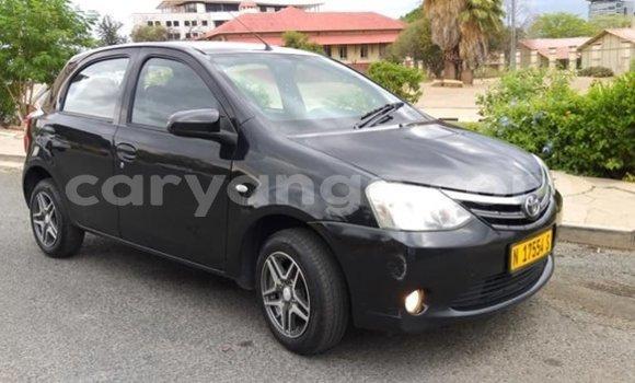 Buy Used Toyota Etios Black Car in Windhoek in Namibia