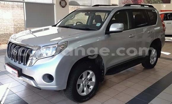 Buy Used Toyota Land Cruiser Prado Silver Car in Windhoek in Namibia