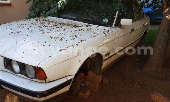 Buy Used BMW 5-Series Black Car in Windhoek in Namibia