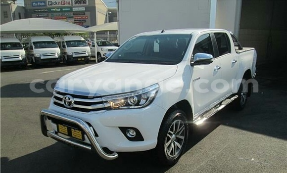 Buy Used Toyota Hilux Surf White Car in Aranos in Hardap