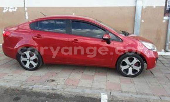 Buy Used Kia Rio Red Car in Windhoek in Namibia