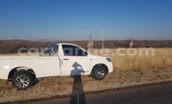 Buy Used Toyota Hilux White Car in Walvis Bay in Namibia