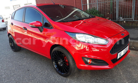 Buy Used Ford Fiesta Red Car in Windhoek in Namibia