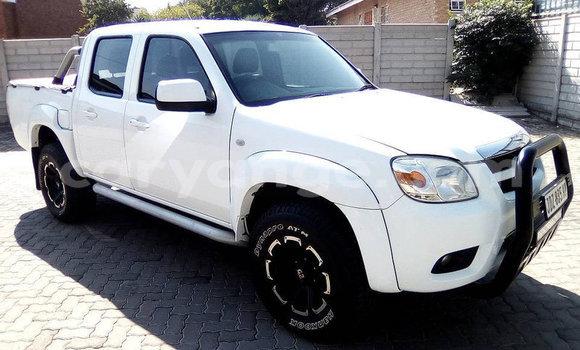 Buy Used Mazda BT-50 White Car in Windhoek in Namibia