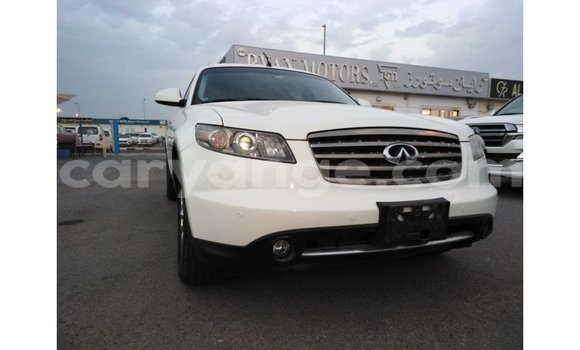 Buy Import Infiniti FX White Car in Import - Dubai in Namibia