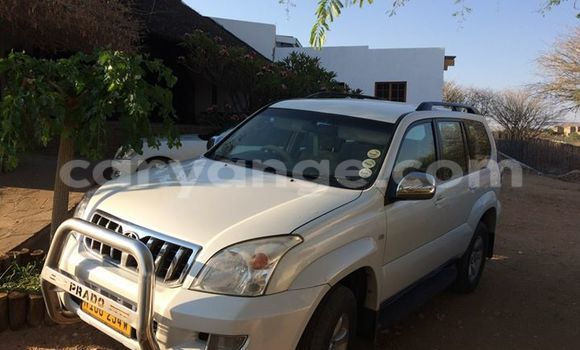 Buy Used Toyota Prado White Car in Windhoek in Namibia