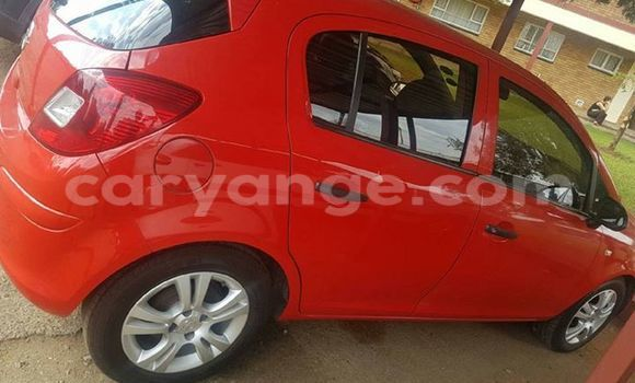 Buy Used Opel Corsa Red Car in Windhoek in Namibia
